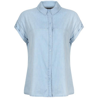 View Item Short Sleeve Denim Shirt